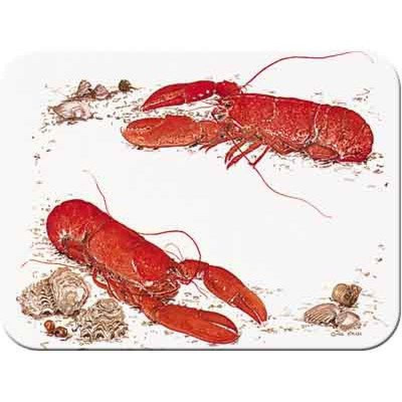 Tuftop McGowan Lobster Cutting Board, Multicolor