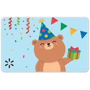 Party Bear Walmart eGift Card