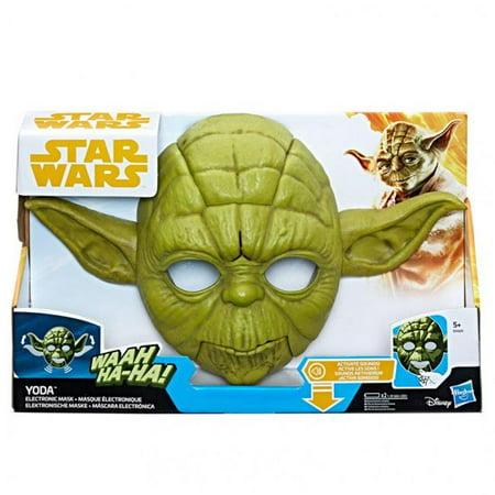 Hasbro HSBE0329 Star Wars S2 Yoda Electronic Mask, 2 Count - Yoda Masks