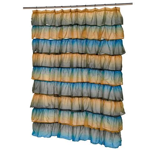 Ben and Jonah Carmen Shower Curtain