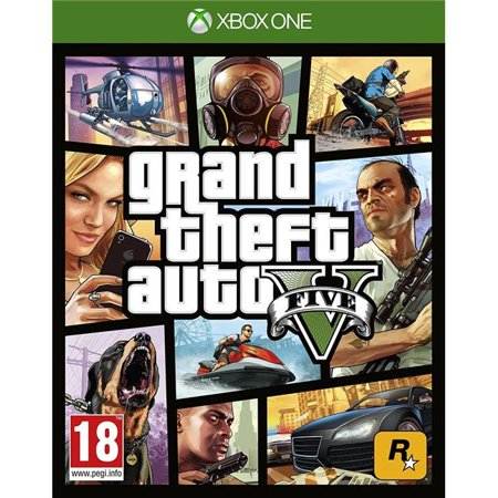Take-Two Interactive Software 494512 Grand Theft Auto V for XBox One, Video Game - image 1 de 1