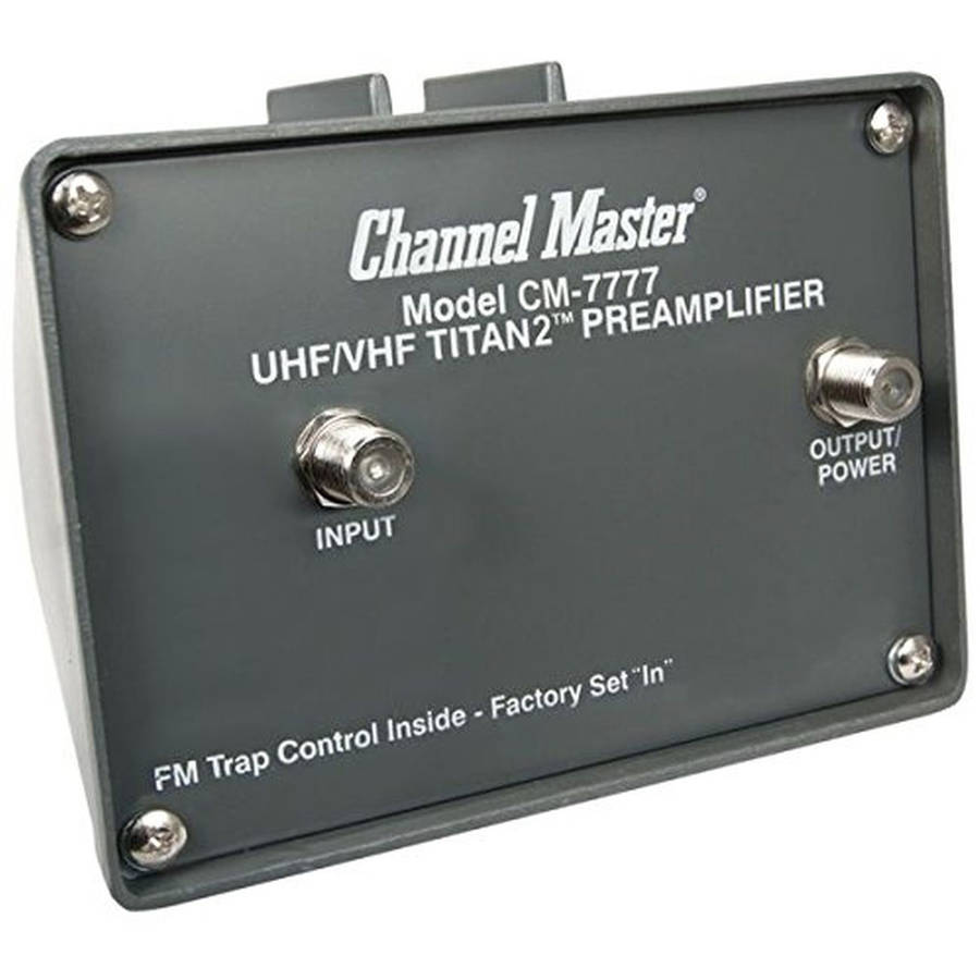 channel master wiring diagram refurbished channel master 7777 titan 2 cm antenna preamplifier  channel master 7777 titan 2 cm