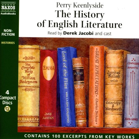 The History of English Literature - Audiobook