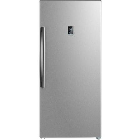 Midea 21.0 cu ft Upright Freezer,Stainless Steel
