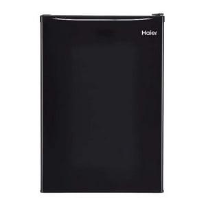 Haier 2.7 Cubic Feet Compact Refrigerator, Black, HRC2736BWB