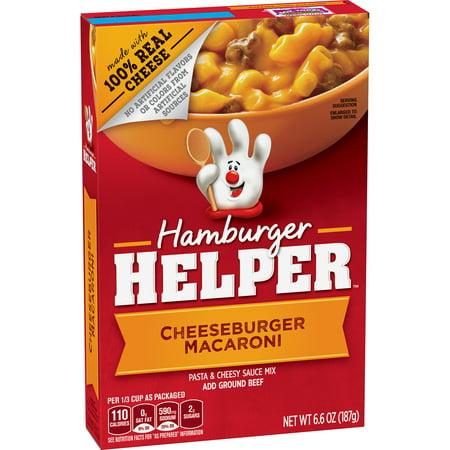 Betty Crocker Hamburger Helper  Cheeseburger Macaroni Hamburger Helper  6 6 Oz Box