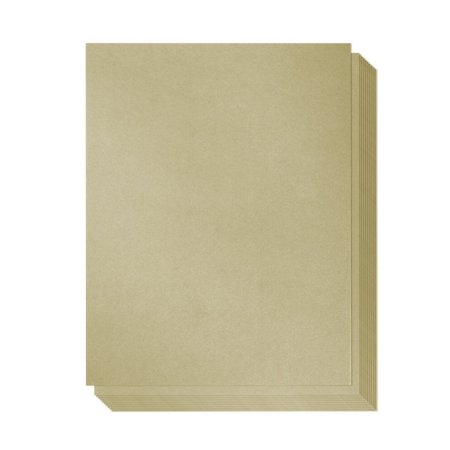 Best Paper Greetings 48-Pack Gold Colored Paper, 8.5 x 11 (Best Paper For Letterpress)