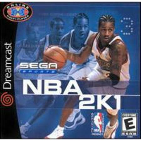 Sega Sports NBA 2K1 for Sega Dreamcast