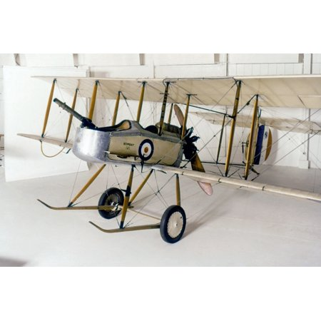 World War I British Plane Nvickers Fb5 Gunbus Was The First Operational British Aircraft Purpose Built For Air To Air Combat Making It Debatably The Worlds First True Fighter Aircraft C1917 Rolled Can