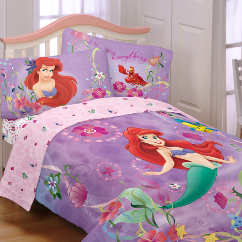 Disney's Little Mermaid Sea Dance Reversible Comforter, Twin/Full