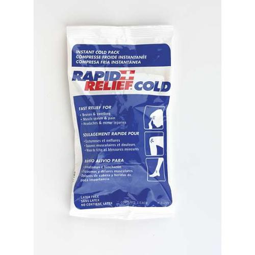 Rapid Aid 31259-24 Instant Cold Pack,White/Blue,5In. X 9In