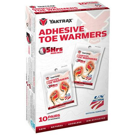 Yaktrax Toe Warmer, 10-Pack