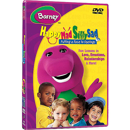 Barney: Happy, Mad, Silly, Sad - Putting A Face To Feelings (Full Frame)