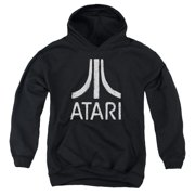 Atari - Rough Logo - Youth Hooded Sweatshirt - Small