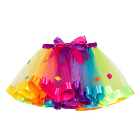 Ustyle Baby Girls Tutu Skirt Mesh Dancing Party Clothing Skirt Kids Photography Prop - image 1 de 9
