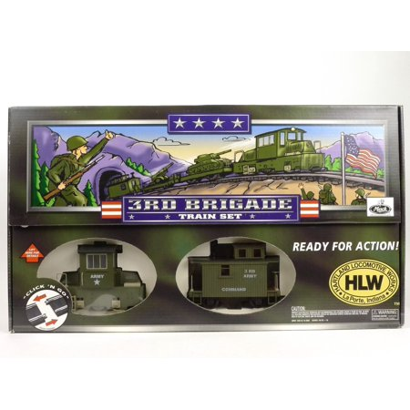 3rd Brigade Army G Scale Train Set By Hartland Locomotive Works
