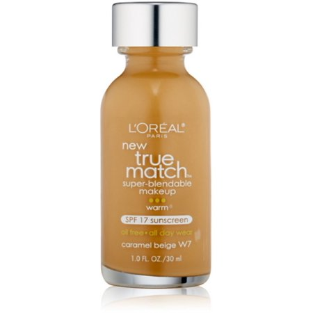 Loreal True Match Super Blendable Makeup  Caramel Beige  W7   1 Oz  Pack Of 2