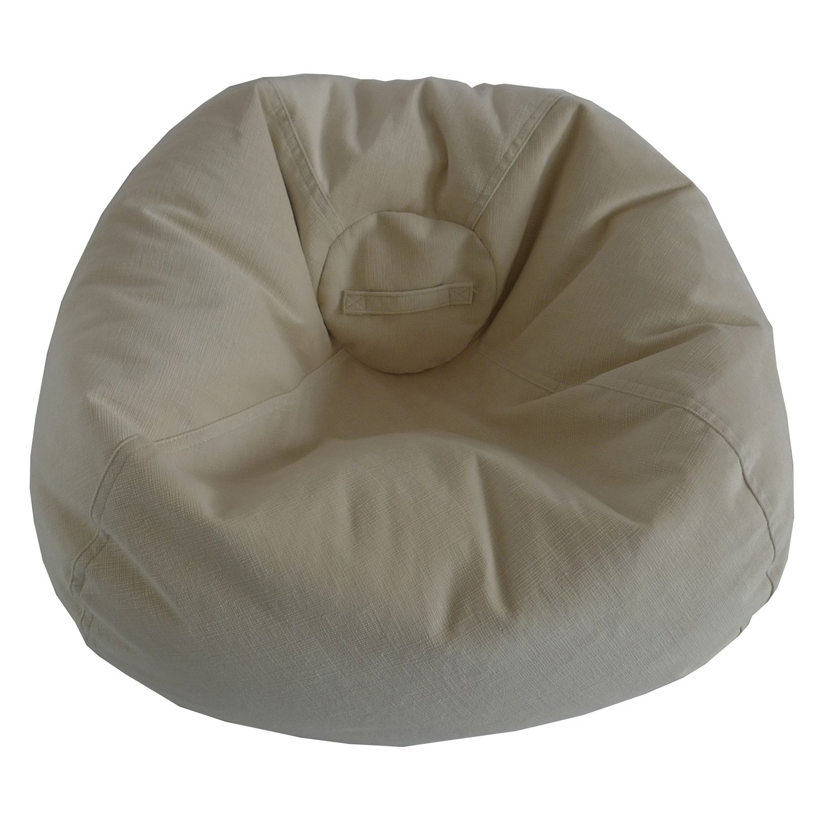 Ace Bayou Large Textured Velvet Bean Bag Available In Multiple Colors
