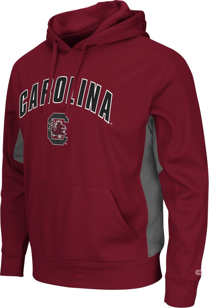 South Carolina Gamecocks Men's Hoodie Poly Fleece Jacket by Colosseum