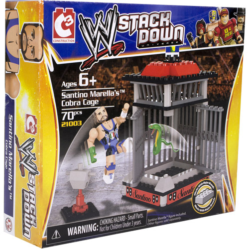 WWE StackDown Santino Marella's Cobra Cage Playset