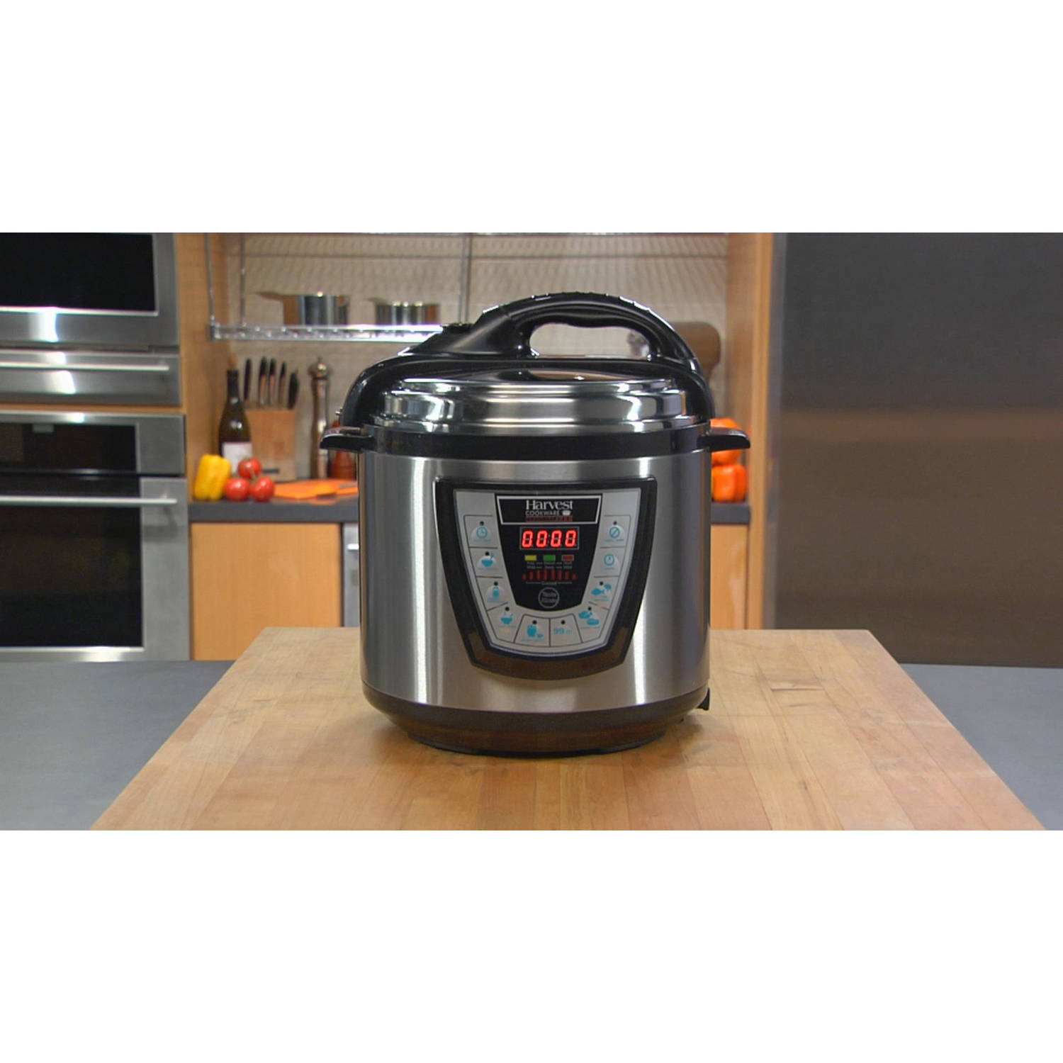 Harvest Cookware Electric Original Pressure Pro 6-Quart Pressure Cooker, Black