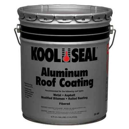 kool seal aluminum roof coating. Black Bedroom Furniture Sets. Home Design Ideas