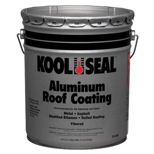 Kool Seal Aluminum Roof Coating