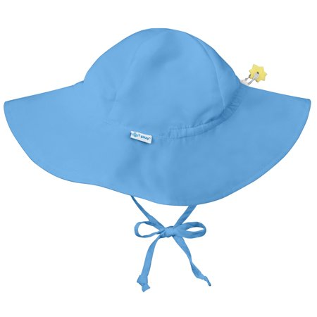 4b9627a9f36 Iplay Brim Sun Hat for Baby Boys Sun Protection Wide Brimmed Hat Solid  Light Blue-Infant 9-18 Months Baby Boy Hat Is Adjustable To Fit Outdoor Hat  With Chin ...