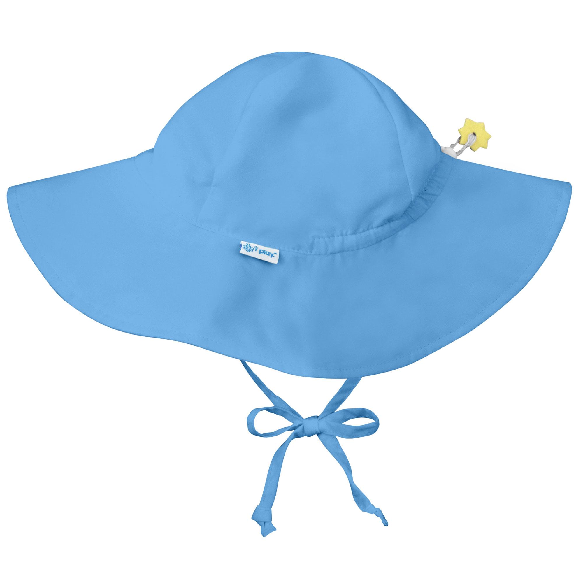 Kids Boys Blue Dinosaur Bucket Sun Hat with Chin Strap Age 1 2 3 4 5 6 7 8