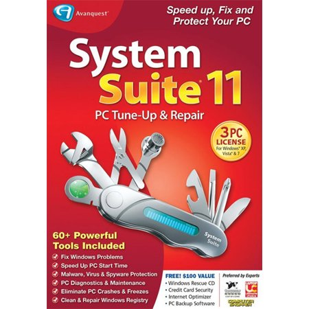 Avanquest System Suite 11 Professional - for up to 3