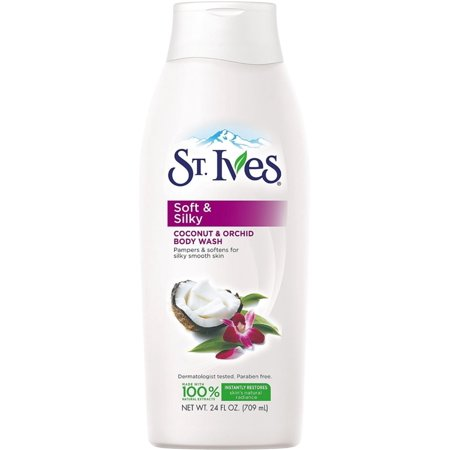 St. Ives Triple Butters Intensely Hydrating Body Wash, Indulgent Coconut Milk 24 oz (Pack of -