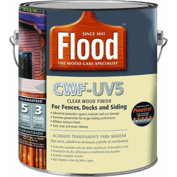 Flood CWF - UV5 Pro Series Wood Finish Exterior Stain