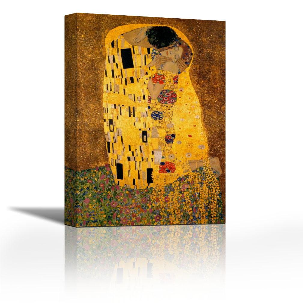 Gustav Klimt Fine Art Poster Print Giclee/' The Kiss 24x36 inches