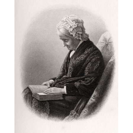 Eliza Ballou Garfield 1801 To 1888 Mother Of President James Garfield From From Log Cabin To White House By William M Thayer Published By Hodder And Stoughton 1905 (White Cabin)