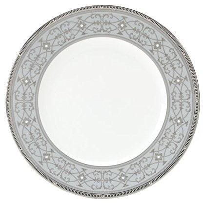 Noritake Rochelle Platinum Accent Plate, 9-inches