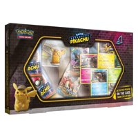 Pokemon TCG: Detective Pikachu On the Case Box- 4 foil promo cards featuring Detective Pikachu |1 beautifully sculpted Detective Pikachu figure