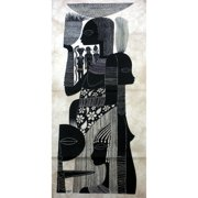Global Crafts Handmade Ashanti Women Heidi Lange Screen Print (Kenya)