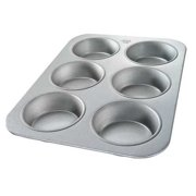 Chicago Metallic 44305 6 Moulds Mini Cake Muffin Pan