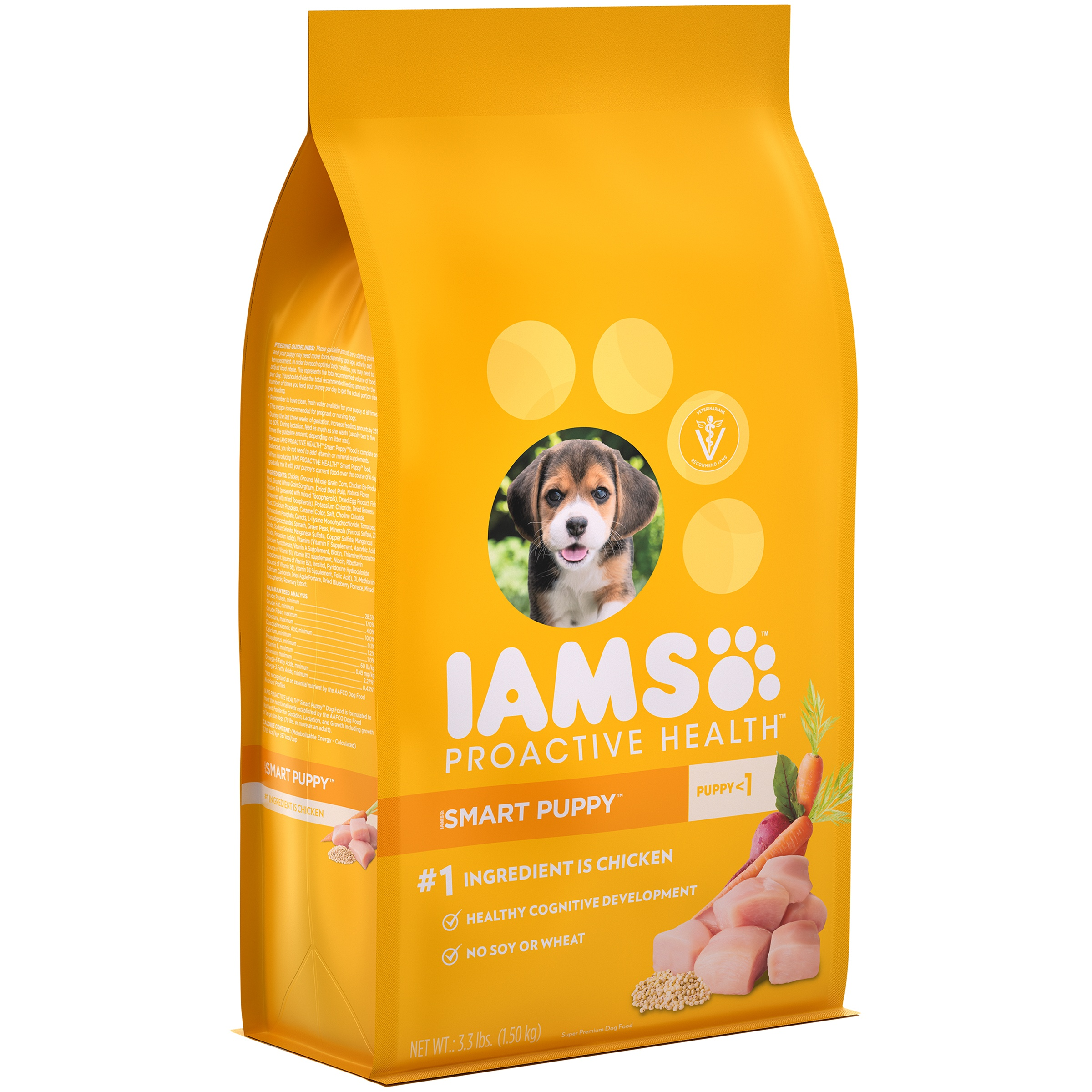 Iams ProActive Health Smart Puppy Original Premium Puppy Food, 3.3 lb by Mars Petcare Us