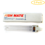 Fish Mate Pressure Filter Replacement UV Bulb 9 Watts - 6.5 Bulb - Pack of 3