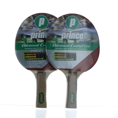 - Set of 2 Prince Advanced Control 600 Table Tennis Racket Ping Pong
