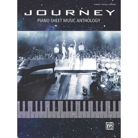 Journey - Piano Sheet Music Anthology: Piano/ Vocal/ Guitar