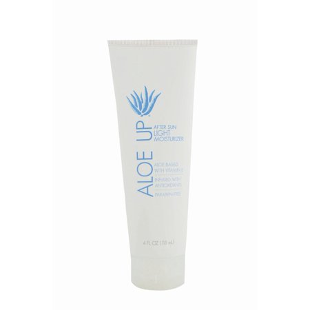 Aloe Up White Collection After Sun Light Moisturizing Lotion, 4 Oz