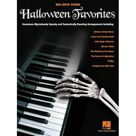 Halloween Favorites Songbook - eBook - Music Halloween Worksheet
