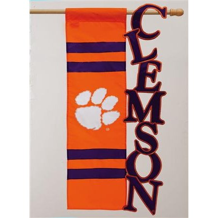 Team Sports America Collegiate Sculpted Garden Flag, nylon By Fans With Pride from USA ()