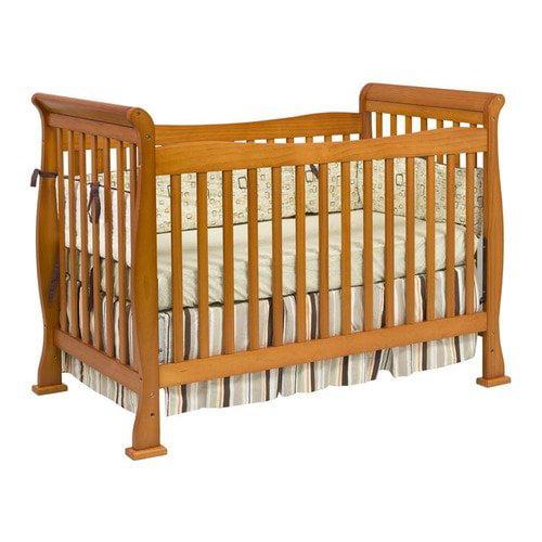 DaVinci Reagan 4-in-1 Convertible Crib with Toddler Rail in Oak