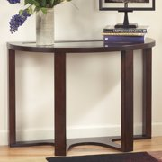 Signature Design By Ashley Marion Crescent Brown Sofa Table