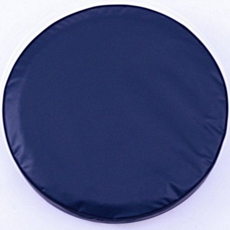 Navy Tire Cover - Tire Cover by Holland Bar Stool - Plain Navy Blue, 28'' x 8''