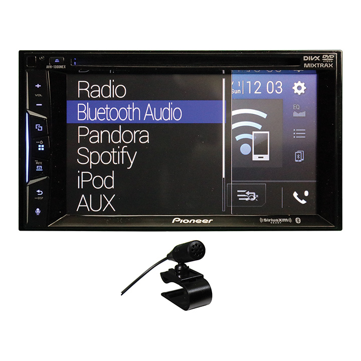 """Pioneer AVH-1300NEX 6.2"""" Double-DIN In-Dash NEX DVD Receiver with Bluetooth, Apple... by Pioneer"""