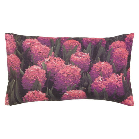 Surya Hyacinth Fields Decorative Pillow - Pink